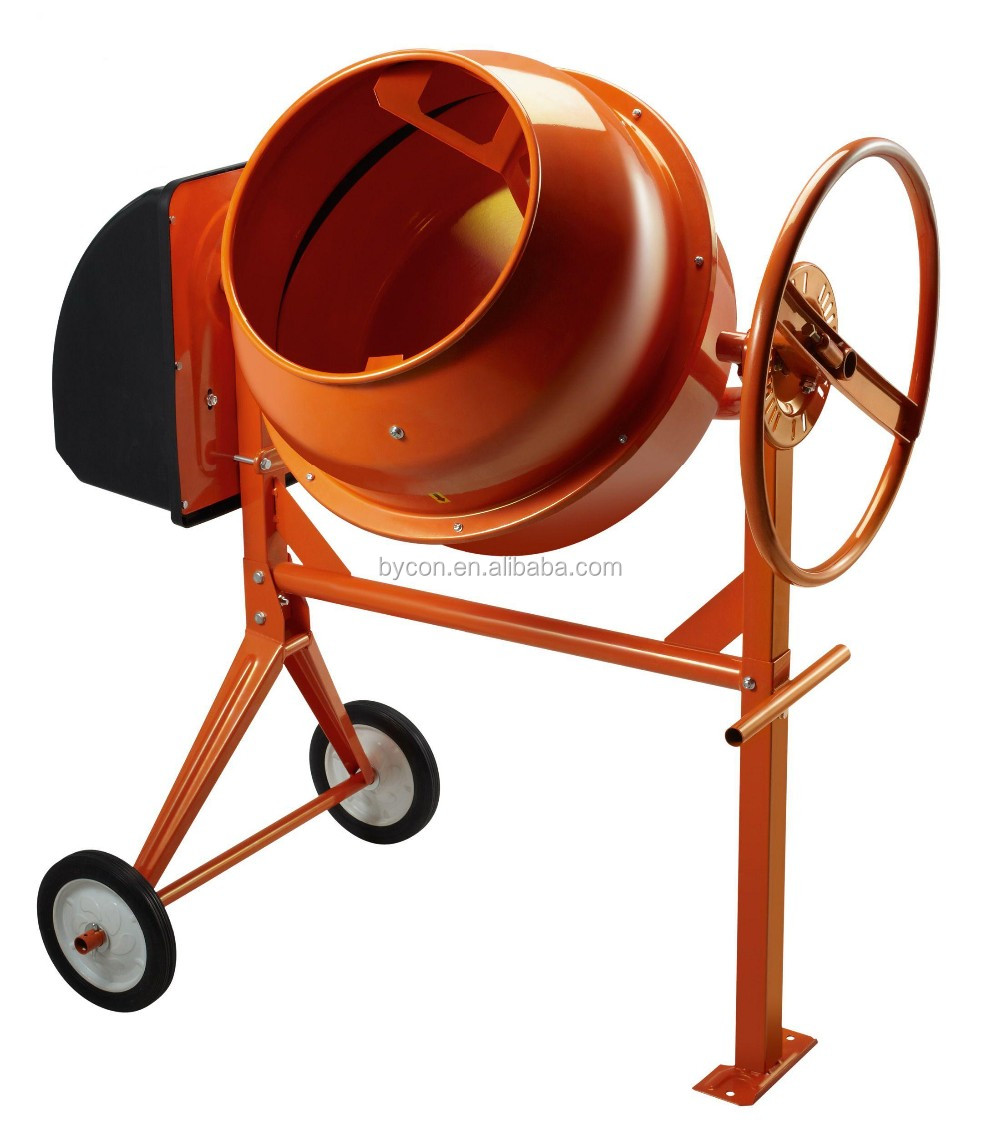 Bc-160 Small Manual Hand Push Cement / Sand / Concrete Mixer With 160l Drum  - Buy Concrete Mixer,Hand Push Concrete Mixing Machine,Small Concrete