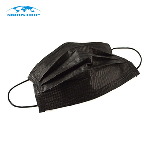 2018 New Products Fashion Disposable Black Face Mask