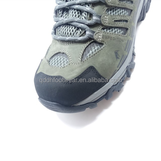 boots upper with comfortable lining men breathable mesh Nubuck hiking qXpvBww