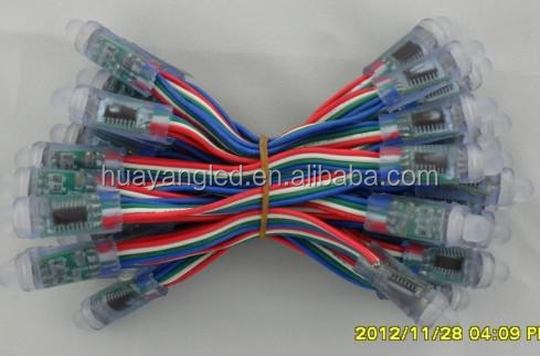 for festival decoration led pixel light string twinkling full color IC type:ws6803 /ws9813 DC5V