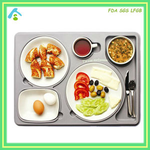melamine hospital food tray