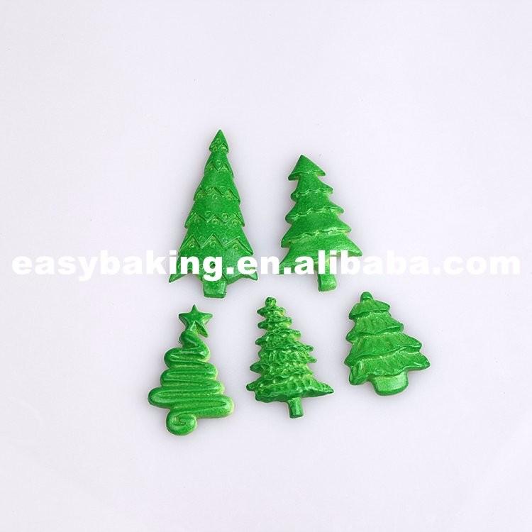 Christmas Trees Ornament Mold