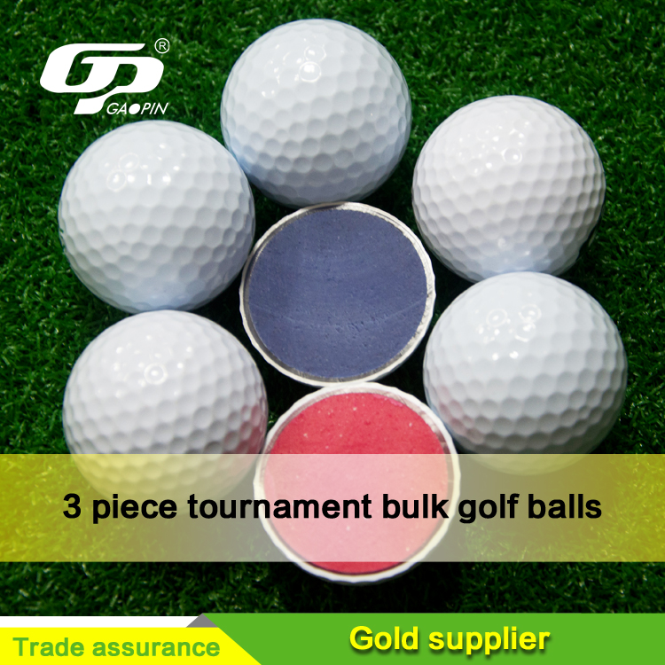 3 piece tournament personalized golf balls