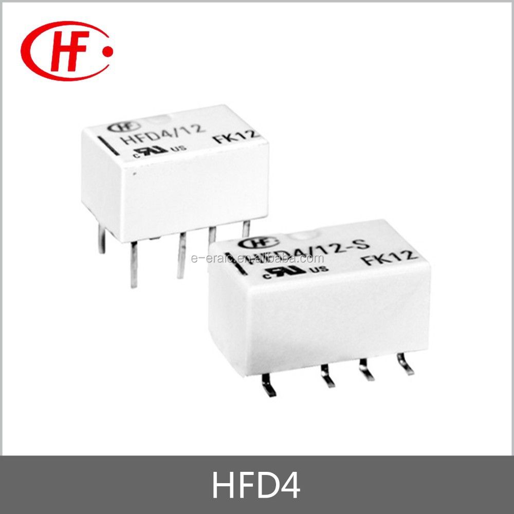 Relays HFD4/12-S SMD 12v 8pin
