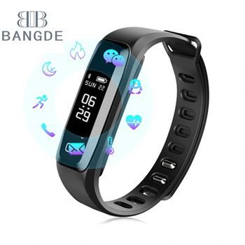 Heart rate measure bracelet blood pressure meter health wristband lady watch reloj de dama