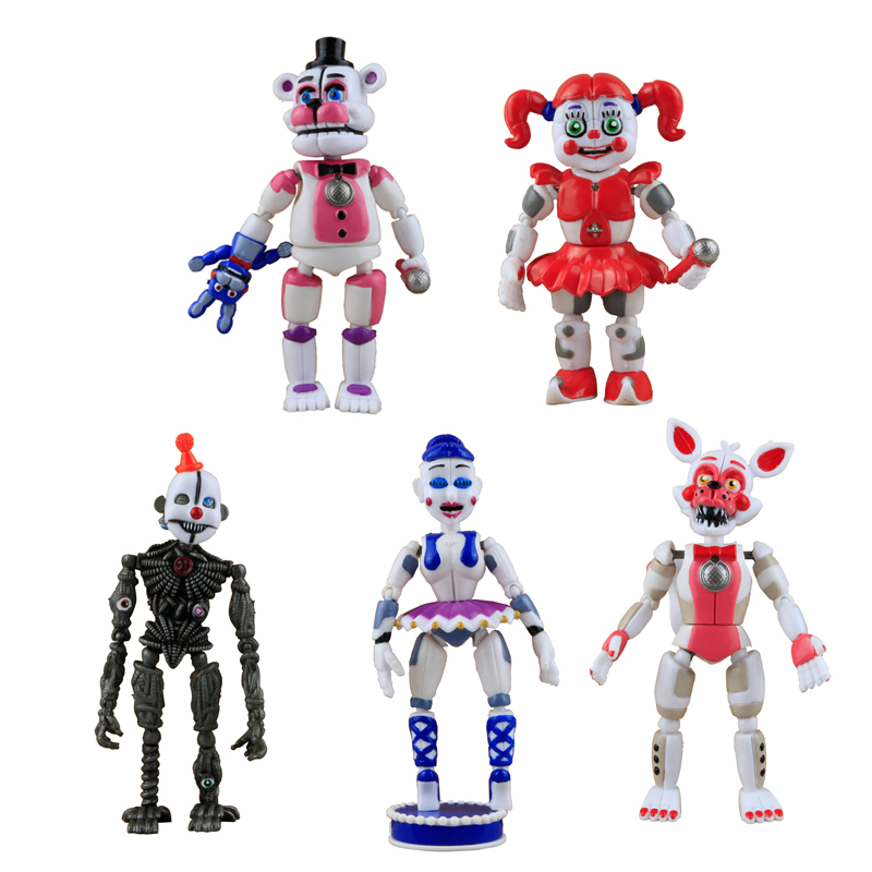 New <strong>Models</strong> Five Nights Cartoon Figure Assembly Toys For Children