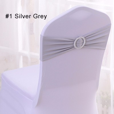 Faithful 100pcs Universal Stretch Spandex Gold Silverchair Cover Lycra Polyester Fabric Wedding Party Banquet Hotel Dining Chair Cover Home Textile Chair Cover