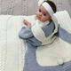Cynthia Lovely New Style Cotton Knitted Throw Cross Blanket