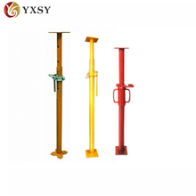 Adjustable height acro jack formwork steel prop
