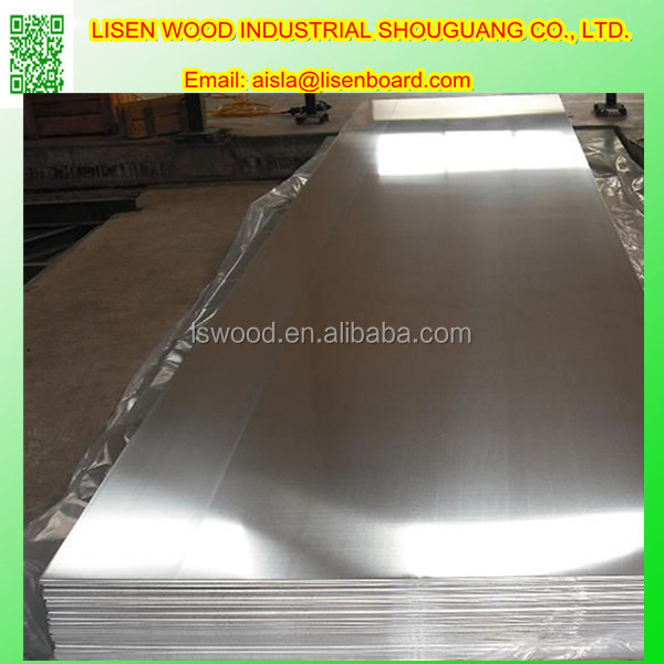 Waterproof aluminium foil faced mdf plywood e grade