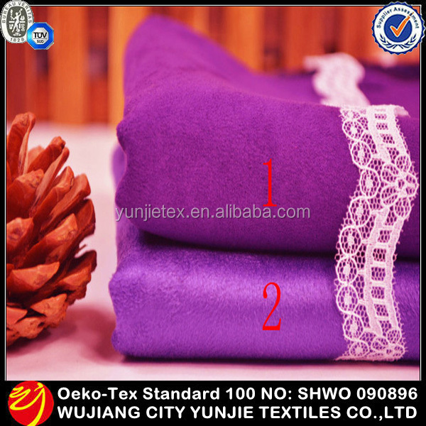 Hot-selling Customized Microfiber Polyester Suede Dining Chair Seat Cover Fabric