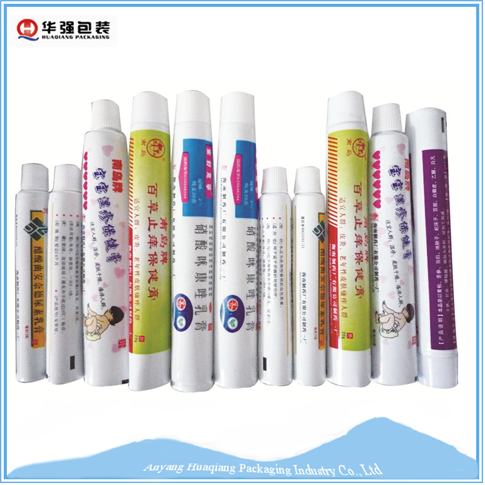 Aluminum foil tube for pharmaceutical