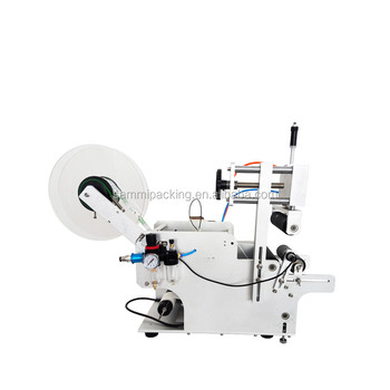 LT-80 semi automatic labeling machine / full pneumatic label applicator and adhesive labeler