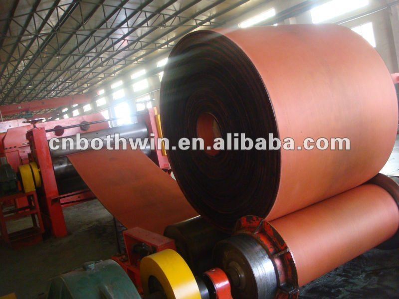 abrasion resistant ployester fabric rubber conveyor belt