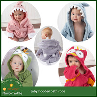 China supplier baby terry hooded bath robe /baby hooded robe/Baby hooded towel
