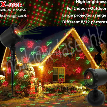 outdoor snowflakesanta claus projector 12 volt laser christmas light