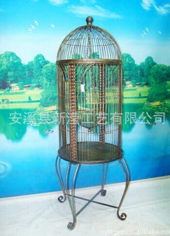 Antique Wrought Iron Bird Cage Best 2000 Antique Decor