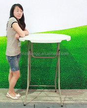 Height 110cm plastic bar folding table for club