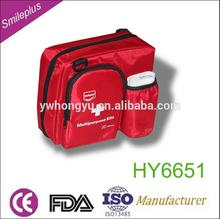 wholesale nylon high quality Red mini new multifunction travel FDA&CE medical first aid kit you best choice protct wound