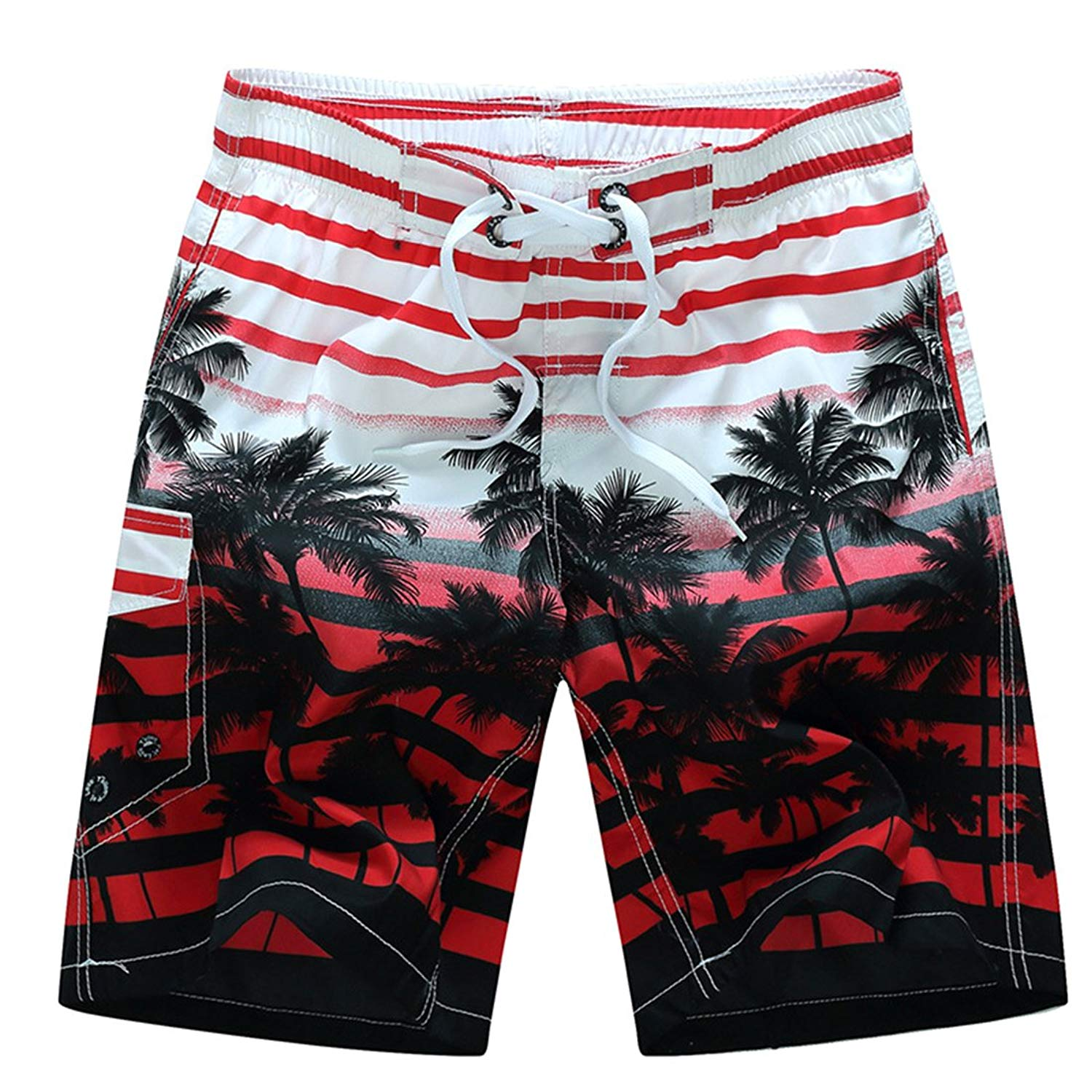341596c0262e4 Get Quotations · Simcat Summer Shorts,Men Quick Dry Swim Trunks Cargo Water  Shorts With Mesh Lining Casual