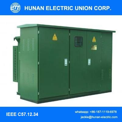 11KV 12KV 50KVA pad mounted transformer /distribution transformer substation outdoor type
