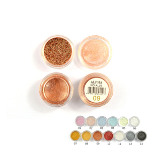 Hot Sell Professional High Quality Glitter Eyeshadow Powder High Pigmented Cosmetic Base Makeup eyeshadow