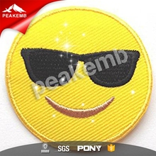 fashion pattern design cute embroidery patches hot fix sequins