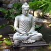 Hand Carved Outdoor Decorative Large Stone Buy Buddha Statue