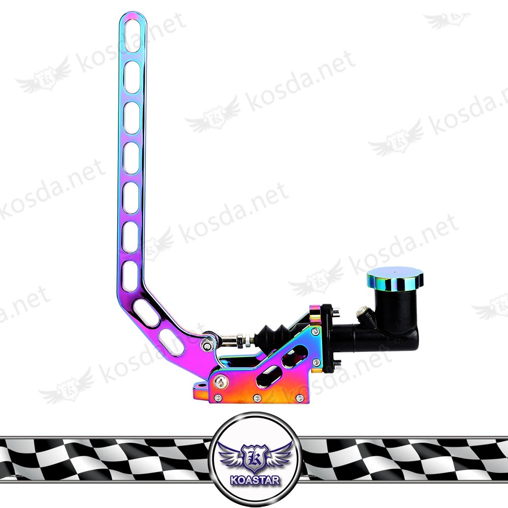 Auto Spare Parts Car Vertical Type Go Kart Hand Brake, Neo Chrome