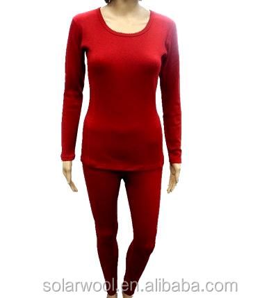 Best Sale In Us Canada Merino Wool Sexy Women Long Johns,Heated ...