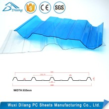 Newest design opaque polycarbonate sheet panel
