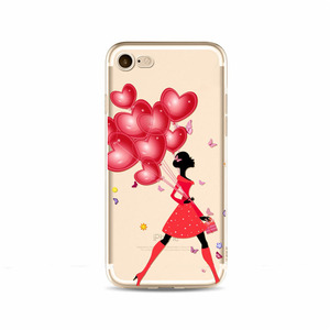 2018 new arrivals dancing flower mobile phone case for iPhone