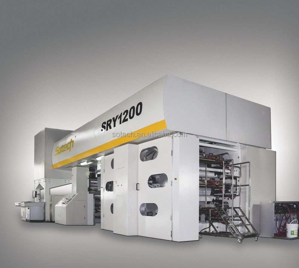 300mpm CI Flexo Printing Machine for Diaper film and Flexible Package