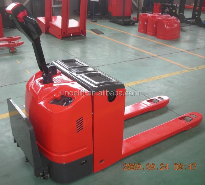 multi-function handle 3ton electric pallet truck Applicable to the train station