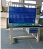 New design portable team work station for two people with 4 drawers office work table