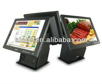 "17""Touch screen POS system for retail"