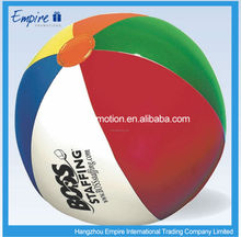 Inflatable Non-Toxic PVC Hot Sales Beach Balls In Bulk