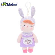 Кукла Metoo, мягкие плюшевые игрушки с животными, мягкие игрушки для детей, для девочек и мальчиков, Kawaii, мини-брелок с подвеской в виде Анжелы и...(Китай)