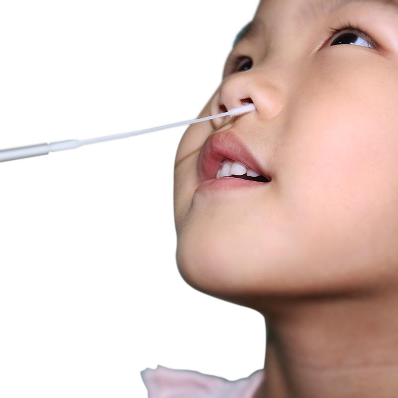FDA CE TGA Sterile upper respiratory Virus sampling tube viral culture media Nasopharyngeal Nylon Flocked swab UTM VTM kit