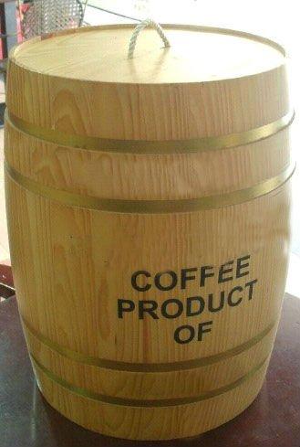 F t de bois pour grain de caf caisses d 39 emballage id de - Fut en bois ...