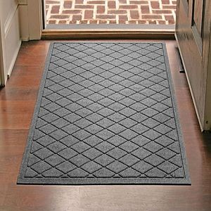 Pattern Design Disinfectant Red Entrance Floor Mat