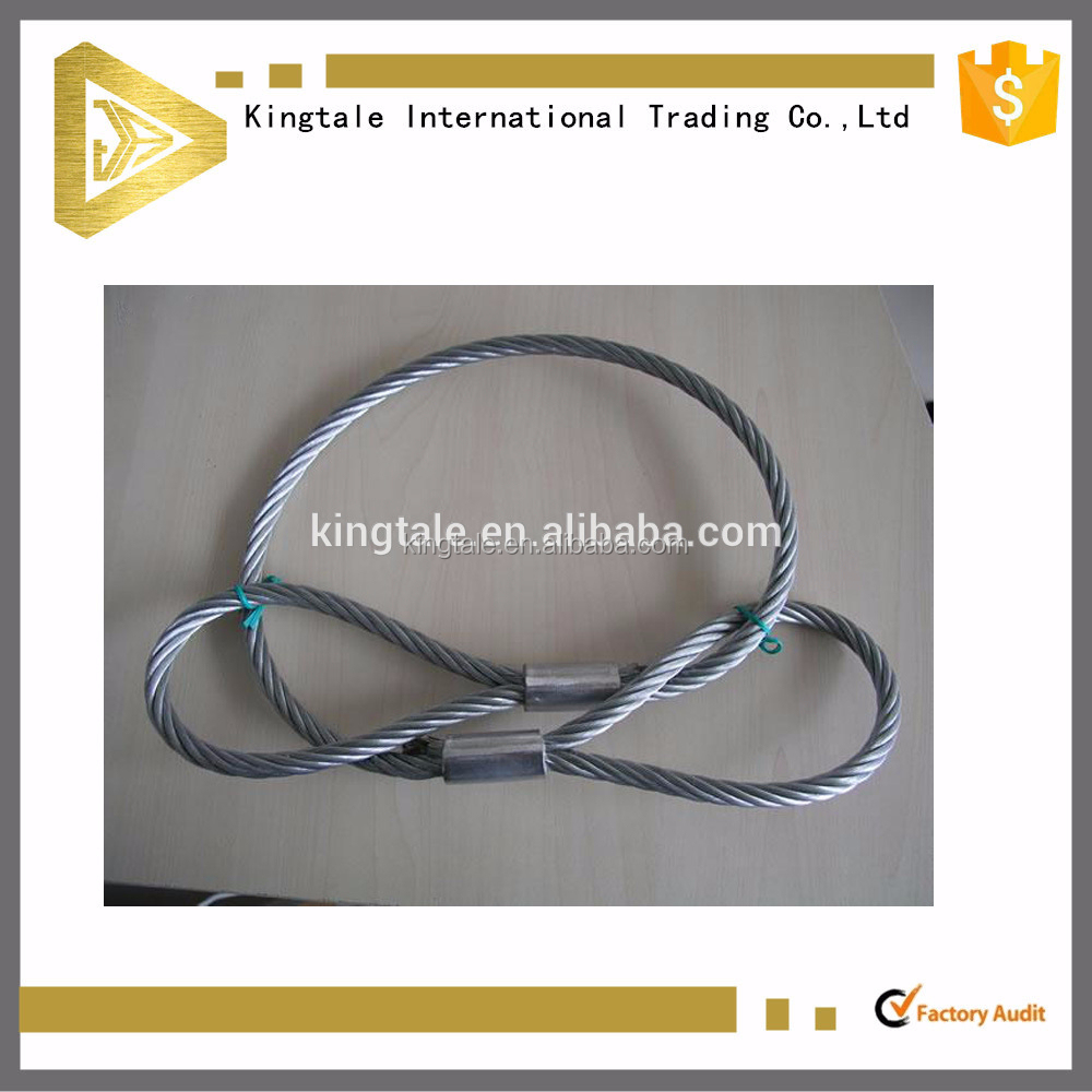 Safety Lifting Tools Pressed Wire Rope Sling - Buy Pressed Wire Rope ...