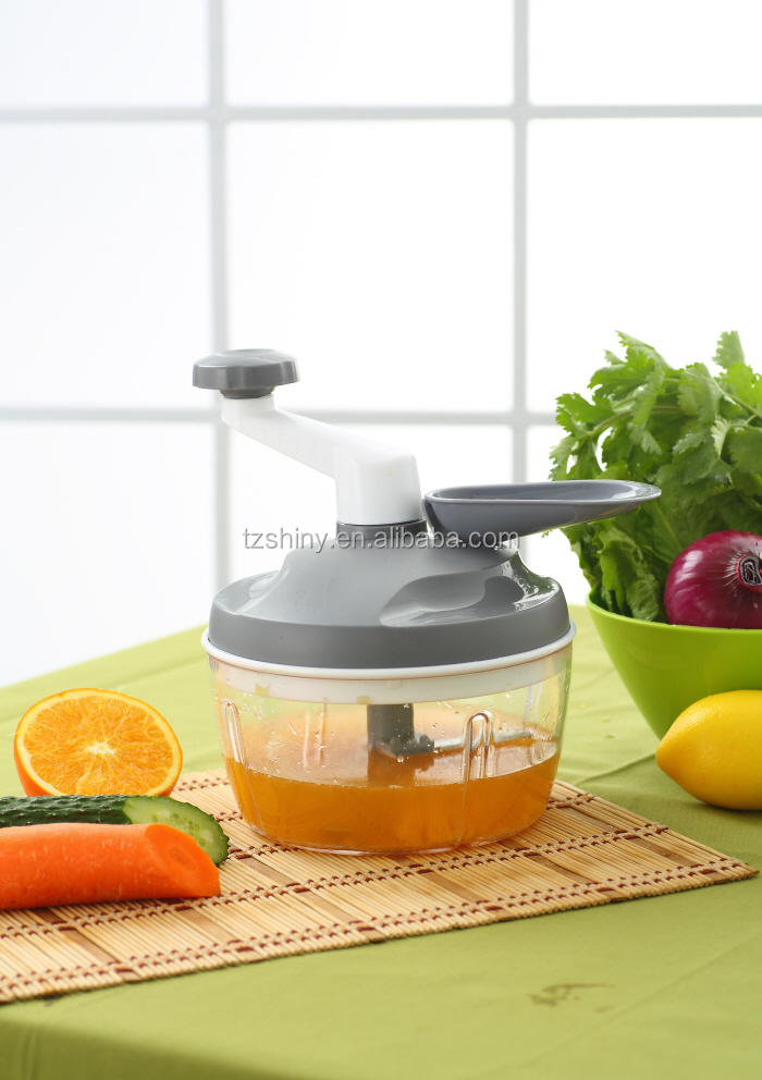 New design food processor swift chopper multifunctional salad spinner and slicer