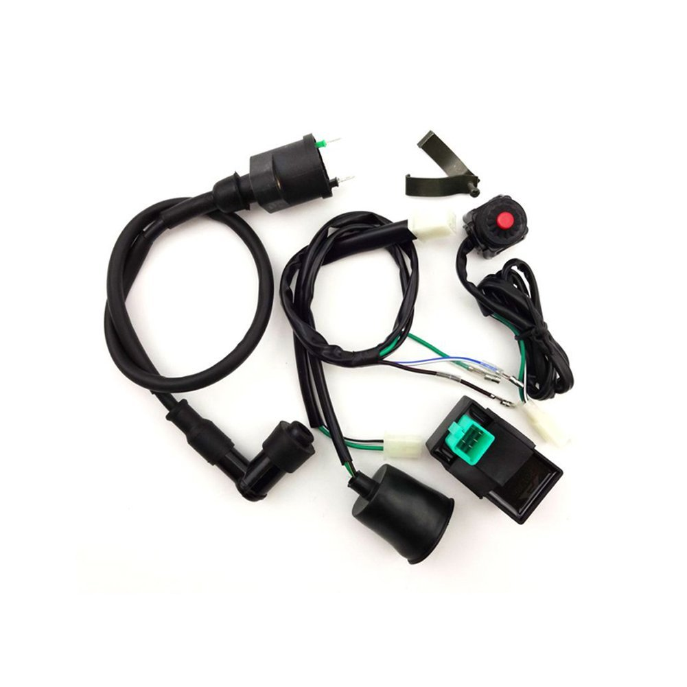 Cheap Ignition Coil Wiring Harness Find Chinese Get Quotations Tc Motor Loom Kill Stop Switch Ac Cdi