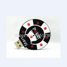 New Style Poker Stars USB Flash Drives External Memory Storage Pendrives 32GB 16GB 8GB 4GB pen