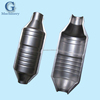 Zinc plated/galvanized steel deep drawn automobile exhaust system enclosure