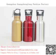 350ml Sports Stainless Steel Water Bottle with straw,Sublimation stainless steel sports water bottle with straw cap