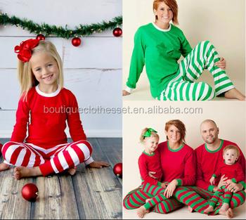 Christmas Pj.Family Christmas Pajamas Embroidered Monogram Christmas Pj S Christmas Clothing Set For The Family Buy Family Christmas Pajamas Embroidered Monogram
