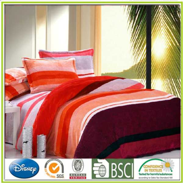Flannel bedding article Farley velvet bedding set new cheap hotel glass coasters and placemats
