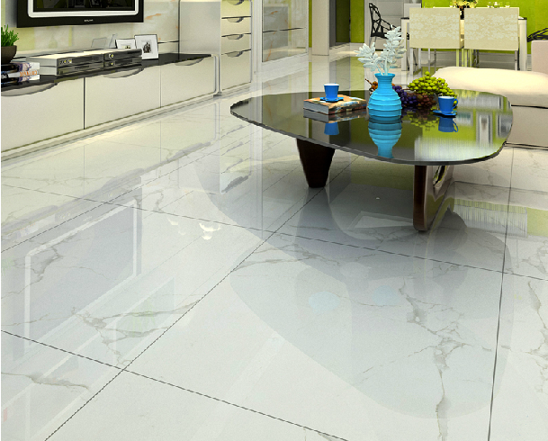 China Foshan Full Polished Marble Tile Prices Pattern: which is best tiles for flooring in india